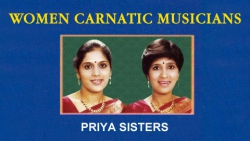 Women Carnatic Musicians - Priya Sisters