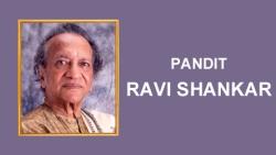Pandit Ravi Shankar - Sitarist and Musician