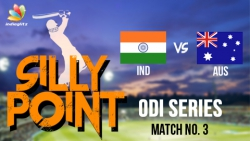 Manish Pandey Pulls Off A Stunning Catch : Bosskey's India vs Australia 2017, 3rd ODI Highlights