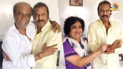 Rajinikanth Looks Like a King Mohan Babu