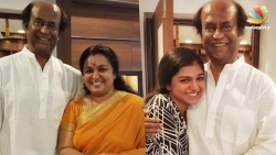 Raveena & Sreeja Ravi meet Superstar Rajinikanth