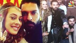 Yuvraj Singh, Hazel Keech tie the knot amidst Virat Kohli & friends