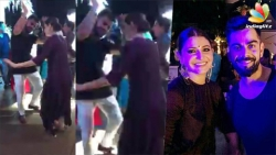 Virat Kohli & Anushka Sharma's cute dance at Yuvraj's Wedding