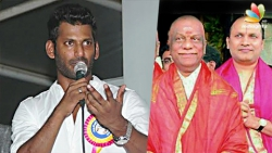Vishal suggests government to spend Sekar Reddy Blackmoney for the good cause