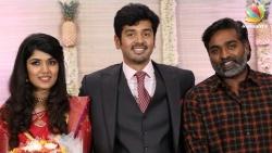 Mankatha fame Ashwin Kakumanu and Sonali Wedding Reception