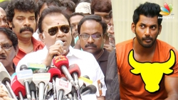 Radha Ravi slams Vishal on Jallikattu Issue | Producer Council Protest
