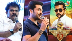 Surya looks like REAL SINGAM in COP dress : Director Hari & Suriya Speech @ S3 Kerala Press Meet