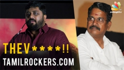 OOPS! Gnanavel Raja Openly Abuses Tamil Rockers   Latest controversial speech   Yeman