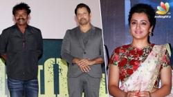 Trisha-Vikram popular duo again on Hari's Saamy 2 after 14 years