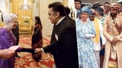 Kamal Haasan meets the Queen after Twenty years