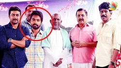 GV Prakash Skips Nachiyar Movie Pooja : Photoshopped image of him standing between Surya & Ilayaraja
