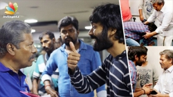 Dhanush falls at Raj Kiran's feet & gets blessings | Power Pandi Success, Madonna Sebastian