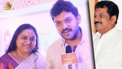 Actor Mukesh unites with ex-wife Saritha to launch their son Shravan   Latest Speech