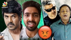 GV Prakash, Raghava Lawrence voices out for Thala Ajith and Vivegam Negative Reviews | Blue Shirt