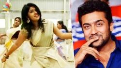I'm a hard core fan of Surya : Jimmi kammal fame Sheril   Hot Tamil Cinema News