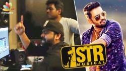 Yuvan Shankar Raja sings under STR's music   Sakka Podu Podu Raja   Kadhal Devathai Tamil Song