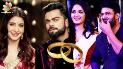 Virat Kohli, Anushka Sharma to get married in December !! | Hot Tamil Cinema News | Prabhas