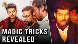Mersal - Magic Trick Revealed | Vijay, Raman Sharma Practice Video | Telugu Release