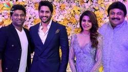 Samantha, Naga Chaitanya's Wedding Reception : Vikram Prabhu, DSP, Rana   Chay Sam Marriage
