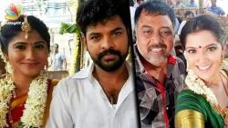 Julie and Vimal's secret wedding ceremony?   Hot Tamil Cinema News   Varalakshmi