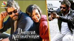 Vikram Gives a Final Touch with Romance | Dhruva Natchathiram | Gautham Menon, Ritu Varma
