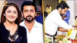 SURIYA 37 : Movie Kick-Starts Shooting with KV Anand in London | Sayyeshaa