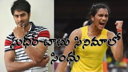 PV Sindhu to act in Sudheer Babus movie