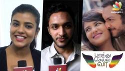 Parandhu Sella Vaa is the first time I'm modern : Aishwarya Rajesh, Nasser son Luthfudeen Interview