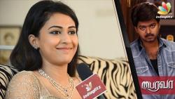 Bhairava Actress Aparna Vinod's FIRST Interview about Vijay and Bairavaa