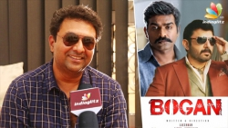 Jayam Ravi Suggested Aravind Swamy instead of Vijay sethupathi : 'Bogan' Director Lakshman