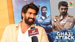 I did Ghazi as I am not good at LOVE : Rana Daggubati and Director Sankalp Reddy Interview