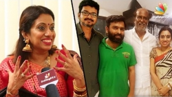 SANTHOSH VERA MATHIRI : Meenakshi Iyer - Santhosh Narayanan's wife on Womens Day   Vijay, Rajini