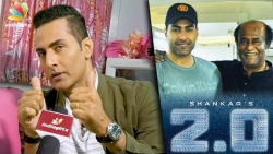 Rajinikanth is God in Human form : 2.0 Villain Sudhanshu Pandey Interview | Enthiran 2 Actor