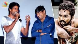 GV Prakash moving forward can't sign more movies : Soori & Satish Speech | SEMA Audio Launch