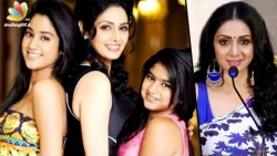 I'm here because of my daughters : Actress Sridevi in Chennai for promoting MOM movie   Speech
