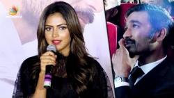 I'm here because of DHANUSH Sir : Amala Paul Speech at VIP 2 Mumbai Audio Launch   Kajol