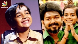 I'm a HERO but I dont have a HEROINE : Mersal Child Actor Aksath   Vijay Son Interview
