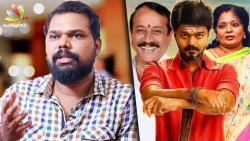 Politicians are scared of Vijay's mass & fans : Vivek Prasanna Interview   Mersal GST, Meyaadha Maan