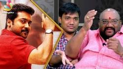 Surya's always with his fitness trainer! Santhana & Sanjay Bharathi Interview, Thaana Serntha Kootam