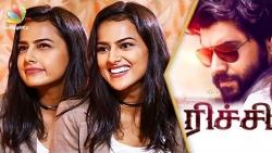 Unfortunately NO romance with Nivin Pauly : Shraddha Srinath Interview | Richie Tamil Movie