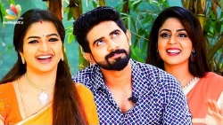 We love men with beards! : Nandhini Serial Actress Interview | Ganga, Janaki, Arun
