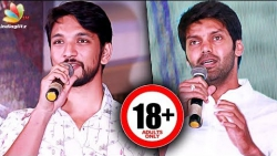 DON'T come with your family! : Gautham Karthik, Arya Speech | Iruttu Arayil Murattu Kuththu