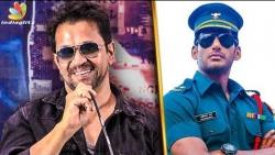 I'm proud of Vishal's Growth : Actor Arjun Speech   Irumbu Thirai Success Celebration