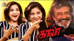 Rajini Said I'm Super Awesome : Sakshi Interview   Kaala, Ranjith Movie   Dhanush
