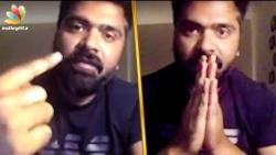 I'm sorry if I did anything wrong : Simbu Emotional Speech   Chekka Sivantha Vaanam Movie