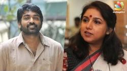 Revathi as a Cow: Vijay Sethupathi as Fish?