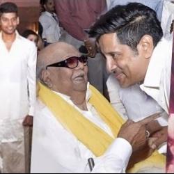 Chiyaan Vikram's daughter engaged to Karunanidhi's grandson