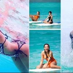 Malaika Arora is enjoying a perfect vacation in Maldives