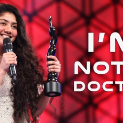 Sai Pallavi breaks the air about her qualification as a doctor