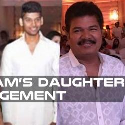 Vikram's daughter Engaged to Karunanidhi's grandson